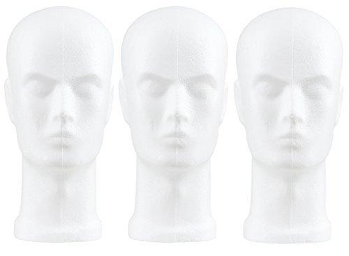 Styropor Herrenkopf Modell