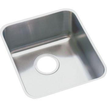 Elkao|#Elkay ELUHAD131655 18 Gauge Stainless Steel 16 Inch x 18.5 Inch x 5.375 Inch single Bowl Undermount Kitchen Sink, by Elkay (Elkay 16)
