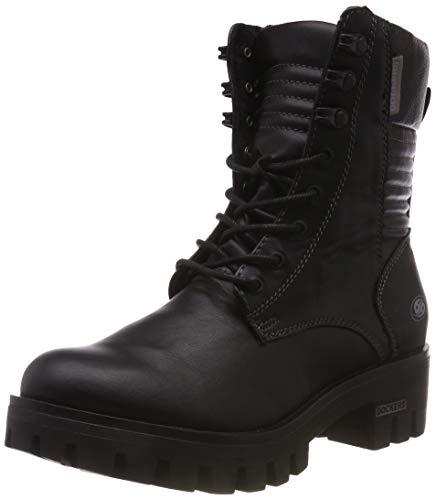 Dockers by Gerli Damen 43FY203 Combat Boots, Schwarz 100, 36 EU