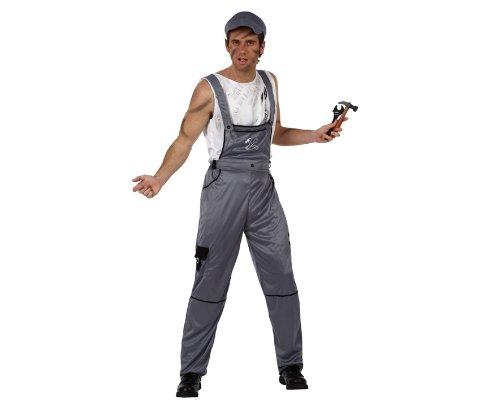 Imagen de disfraz de mecánico para adulto