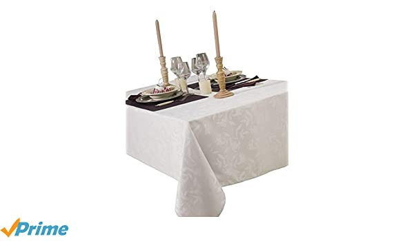 CALITEX Bromine 3372360505530/Rectangular Tablecloth Polyester Taupe