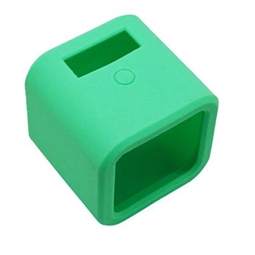 Goliton Morbida gomma di silicone della copertura della cassa della protezione della pelle per GoPro Eroe 4 Sessione Camera-verde
