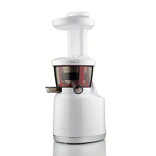 Clase Italia 70430092Extractor de zumo baja Velocita 43rpm/min, 0.5L, 150W, blanco brillante