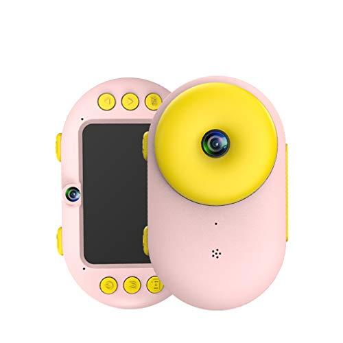 HWUKONG Unterwasserkamera für Kinder, wasserdichte Digitalkamera HD / 2,4 Zoll, stoßfeste Kinder-Camcorder, Spielzeug für Jungen und Mädchen Geburtstagsgeschenk,Pink