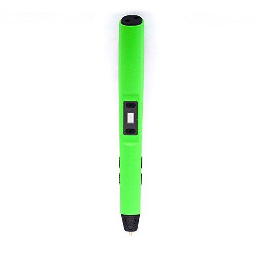 Rokoo Stylo d'impression 3D intelligent pour l'artisanat Art et modèle avec affichage LED Compatible avec PLA / ABS