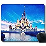 Disney Castello J12G3E Mouse Pad / tappetino per mouse, Bella Tappetino mouse