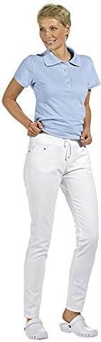 LEIBER Damen-Hose Slim Style - weiß - Größe: 40