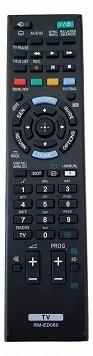 EWO'S 'il telecomando rm-ed052 per sony rm-ed053 rm-ed060 tv kdl-40w905a kdl-46w905a kdl-55w905a kdl-65w855a tv lcd, led tv