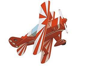 aue-verlag 23x 26x 10cm Doppeldecker Flugzeug Model Kit Model Kit Flugzeug