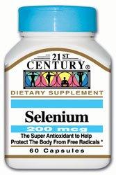 21st Century Health Care, Selenium, 200 mcg, 60 Capsules