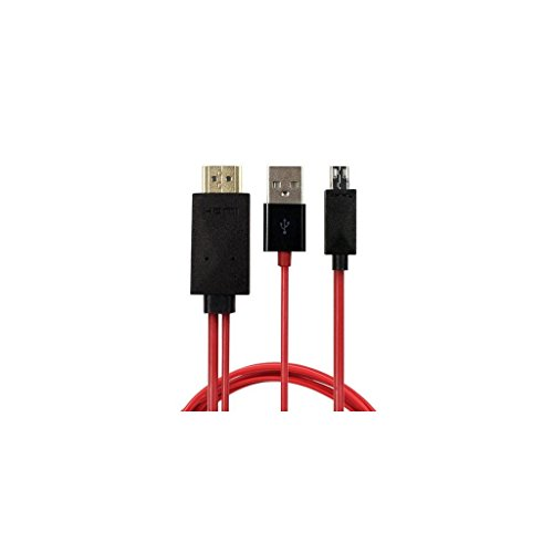 Motorize - 2m MHL Kabel - Micro USB auf HDMI - Full HD 1080P HDTV Adapter-Kabel - Samsung Galaxy Note 4 / Edge