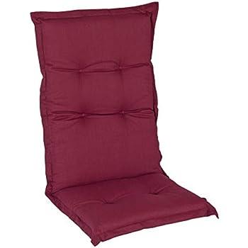 2 Hochlehner Sessel Stuhl hoch Gartenstuhl Auflagen Polster Kissen Gartenpolster