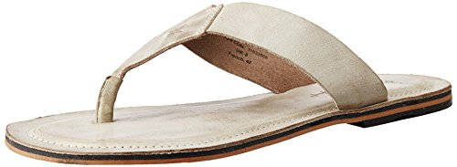 Ruosh Men's Tan Leather Sandals and Floaters - 8 UK/India (42 EU)(9 US)