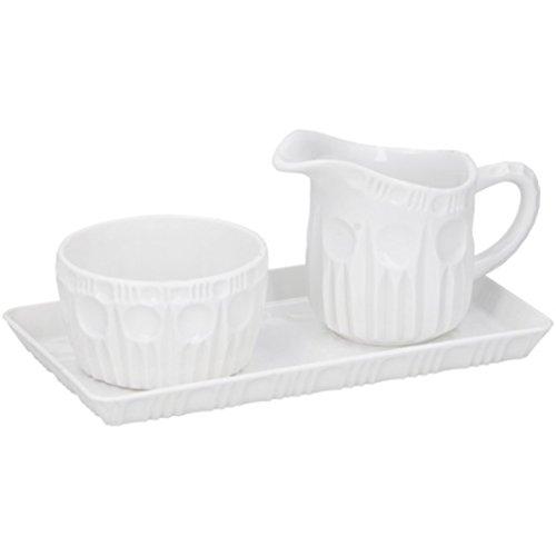 Milchkännchen/Milchkännchen, Kunststoff, 100 ml, Weiß