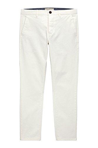 next Homme Coupe Skinny Pantalon Chino Stretch Naturel1
