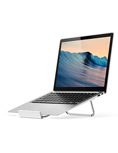 UGREEN Support Ordinateur Portable en Aluminium Bonne Ventilation Pliable et Réglable Compatible avec PC de 11 à 16 Pouces MacBook Pro MacBook Air Surface Book Tablette Graphique, Argent