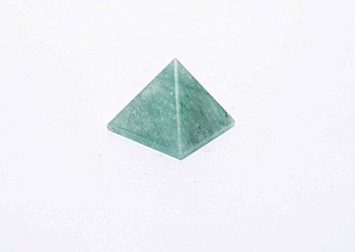 Generatore di energia verde Aventurine piramide di pietra Feng Shui Reiki Guarigione spirituale di cristallo