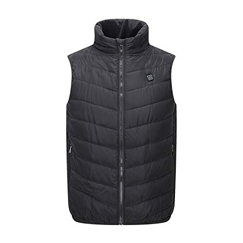 31k30nmfsxL. SS500  - DZX Winter Heating Vest/Warm Clothing Electric Jacket,USB Heating-For Camping, Hiking, Skiing And Ice Skating,S