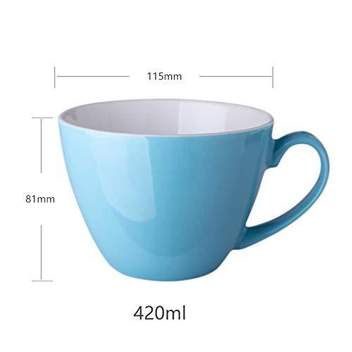 Kreative einfache Persönlichkeit Keramik Tassen Einfarbig Tassen männliche und weibliche Studenten Wasser Tassen nach Hause Milch Kaffeetassen