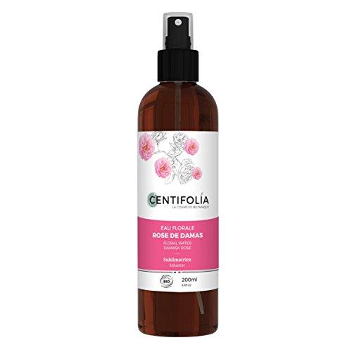 CENTIFOLIA - Bio Rosen Hydrosol - Beruhigend und Anti-Aging, ideal für reife, trockene und empfindliche Haut - Alkoholfrei - Vegan - 200 ml