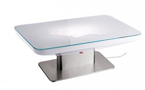 Gowe H46 LED Lumineux meubles Table de salle à manger pour 4 personnes, Studio LED, LED Table basse pour bar, salle de réunion, salon, ou les événements