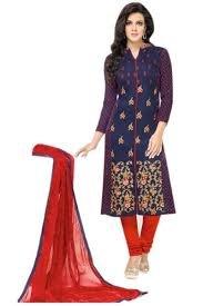 M&M World Women's Pure Cotton Dress Material Salwar Kameez for women Unstitched...