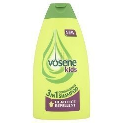 THREE PACKS of Vosene Kids 3 in 1 Conditioning Shampoo Head Lice Repellent by Vosene