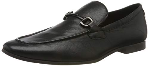 ALDO Herren EREZ Slipper, Schwarz (Black Leather 97), 44 EU