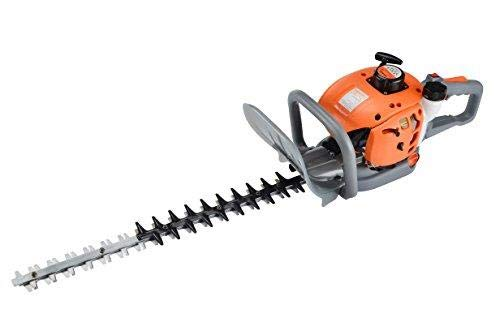 "eSkde HT60-S7 Petrol Hedge Trimmer 60cm 24"" Double Sided Reciprocating Blades"