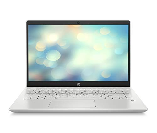 HP Pavilion 14-ce2009ns - Ordenador portátil de 14' FullHD (Intel Core i7-8565U, 16GB RAM, 512GB SSD, Nvidia GeForce MX130-2GB, Windows 10) blanco - Teclado QWERTY Español