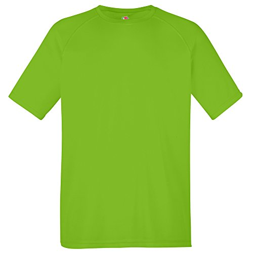 Fruit of the Loom Performance tee Lime