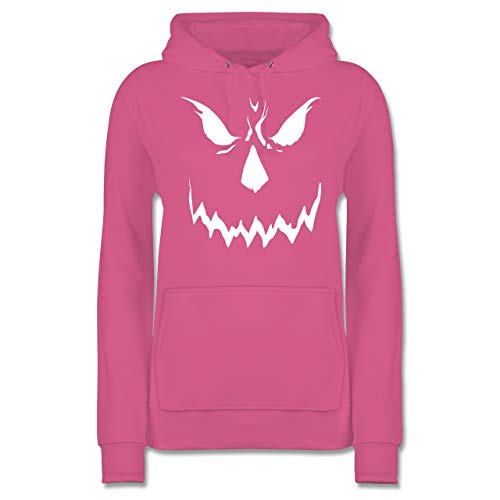 Shirtracer Halloween - Scary Smile Halloween Kostüm - M - Rosa - JH001F - Damen ()