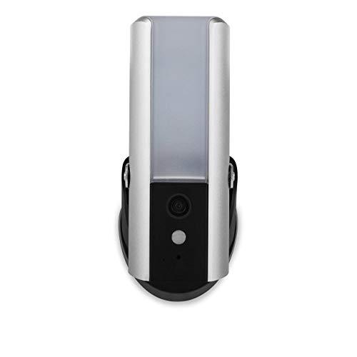 31k3QNijTsL [Bon Plan Netatmo] Smartwares Guardian CIP-39901 - Caméra de surveillance connectée avec éclairage intégré, alarme et audio 2 Voies