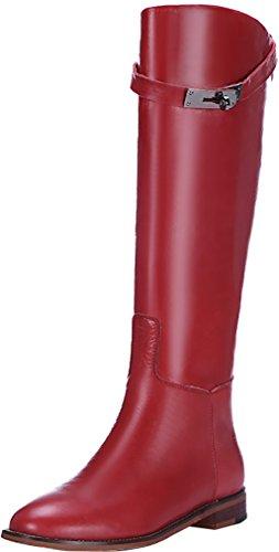 elehot-femme-eleinfer-plat-25cm-souple-bottes-rouge-345