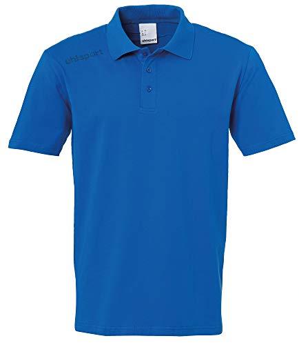 Uhlsport Essential Polo Shirt Camiseta, Hombre, Azul Azur, 4XL