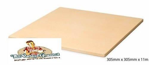 Galleria fotografica Vintage Gourmet (TM) 30,5cm quadrato Corderite pizza pietra refrattaria