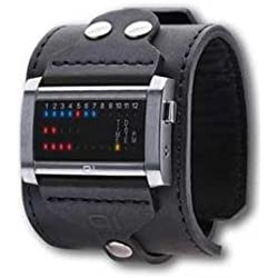 Binary THE ONE Unisex Analogue Watch with Black Dial Analog - Digital Display - Ibiza Ride Horizontal IRH102RB4