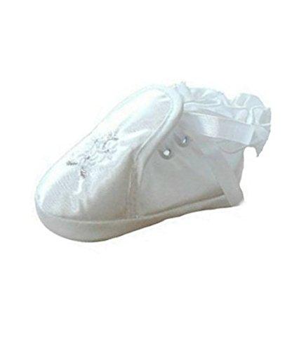 Scarpe festa per battesimo o un matrimonio - scarpe battesimi per le ragazze, bambini TP02 taglia 17