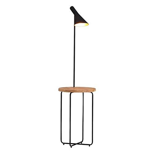 Stehleuchte Stehlampe, mit Trittbrett und Fernbedienung Schalter Stehlampe, geeignet for Wohnzimmer Schlafzimmer Büro Kreative vertikale Wohnzimmer Stehlampe [Energieklasse A +] -