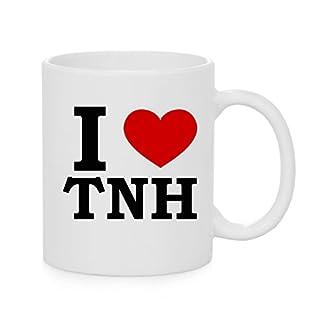 I herz TNH ( Love ) Offizielles Tasse