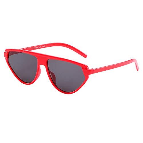 HEETEY Mode Sonnebrille Gespiegelte Linse Sunglasses Sportbrille Polarisierte Sonnenbrille Fahrerbrille丨Horn Gestell Halbrahmen Polarisierte Sonnenbrille丨Klassische Nerdbrille丨Sportbrille Sonnenbrille