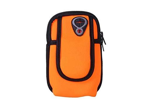 Fitness Radfahren Sport Armband Gym Running Handy Smartphone Tasche Tasche Hülle Case Cover Halter für Smartphone Karten Schlüssel für iPhone XS XR XS Plus Huawei Mate20 P30, gelb -