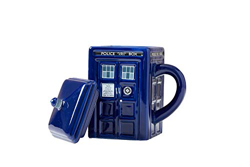 Wesco Doctor Who Becher Tardis mit Deckel