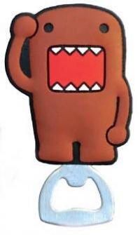 Domo-Kun, Saluting Domo, Officially Licensed - Die-Cut BOTTLE OPENER - Magnet aimantic 3D Bottle Top and Lid Opener