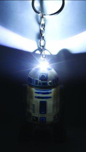 Imagen principal de B003YUXCXK - B003YUXCXK - Llavero Star Wars R2D2 con Luz