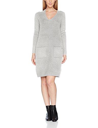 s.Oliver Damen Kleid 14710827151, Elfenbein (Creme Knit 02X0), 46