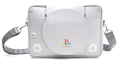 Sac besace Playstation BIO-MB128818SNY, Gris