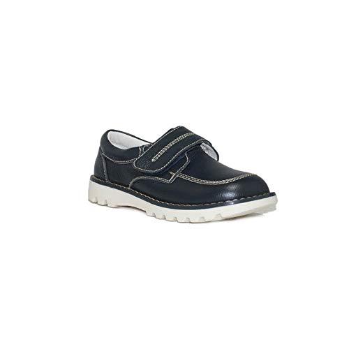 BUBBLE - Zapato Velcro NIÑO B915 - Azul