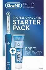 Braun Oral B Pro 2 2200 N Electric Toothbrush with