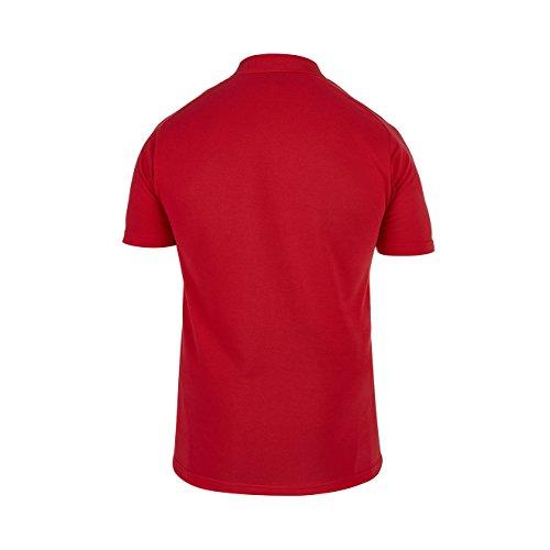 Canterbury s Men'Ausbildung Polo-Shirt England, Baumwolle rot - rot